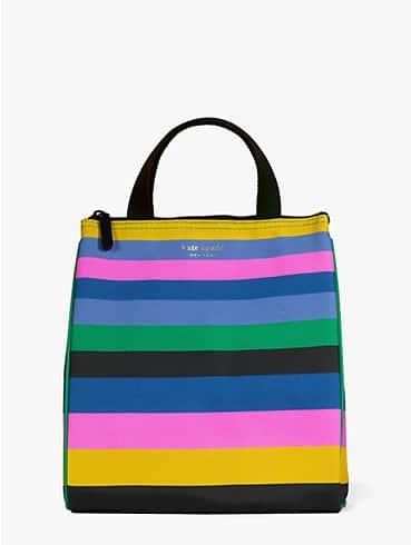 enchanted stripe lunch bag, , rr_productgrid