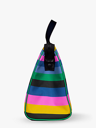 enchanted stripe lunch bag by kate spade new york hover view