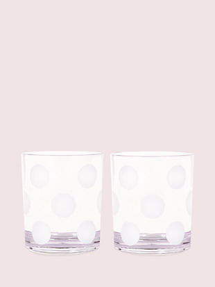 jumbo dot drinkware set by kate spade new york non-hover view