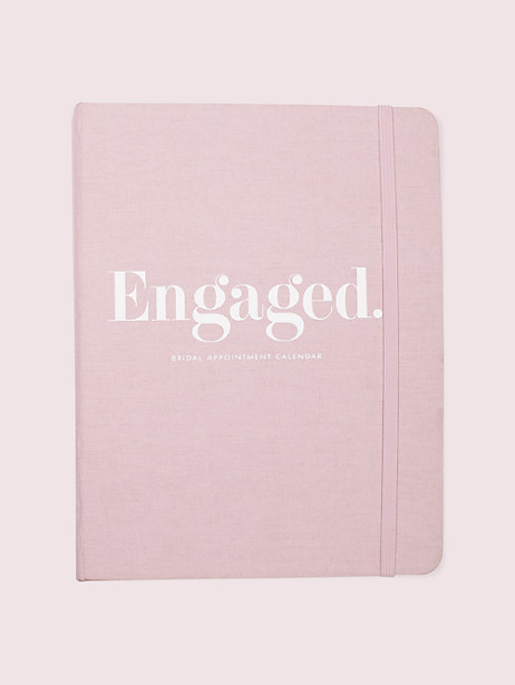 blush bridal appointment calendar by kate spade new york