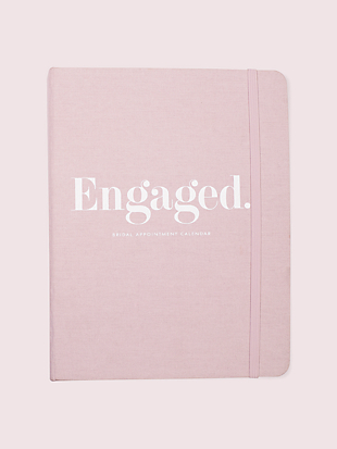 blush bridal appointment calendar by kate spade new york non-hover view