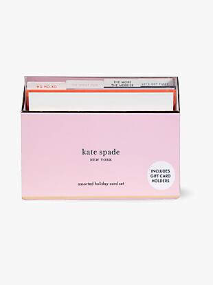 assorted holiday card set by kate spade new york non-hover view