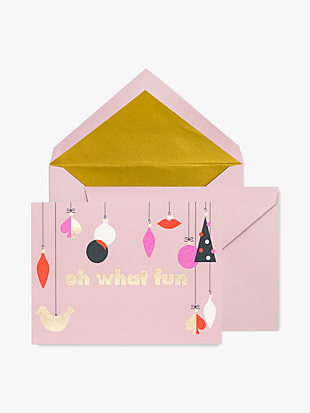 assorted holiday card set by kate spade new york hover view