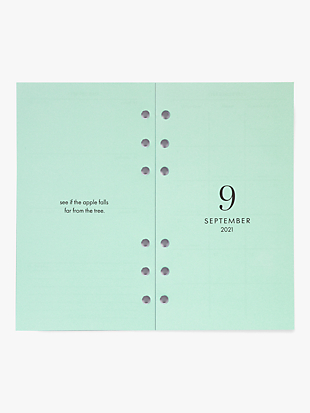 white dot 12-month large planner refill by kate spade new york hover view