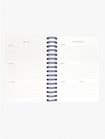 candy stripe large 17-month planner, , rr_productgrid