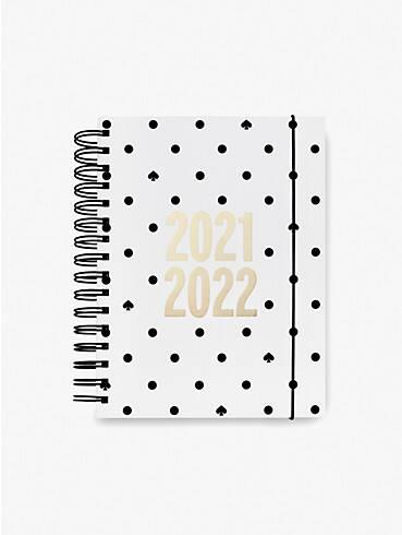 black spade dot large 17-month planner, , rr_productgrid