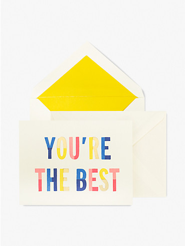 you're the best thank you card set, , rr_productgrid