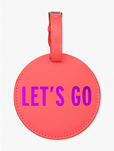 let's go luggage tag, , rr_productgrid