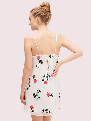 watercolor rose chemise by kate spade new york hover view