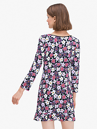 painted pansy sleepshirt by kate spade new york hover view