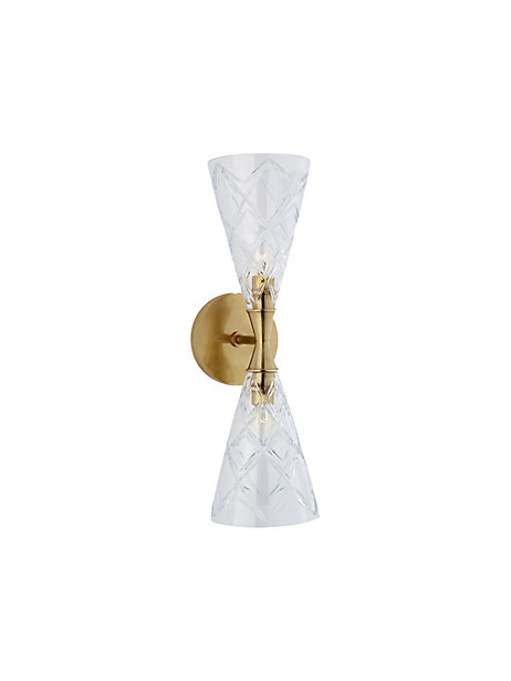 darcy double sconce by kate spade new york