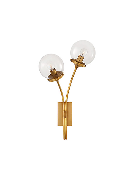 prescott left sconce by kate spade new york