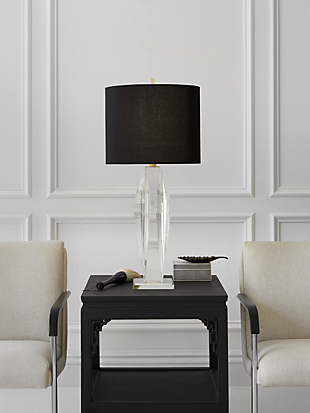 castle peak table lamp by kate spade new york hover view