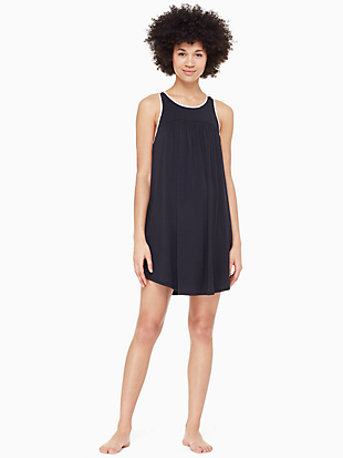 jersey blend bow chemise by kate spade new york non-hover view