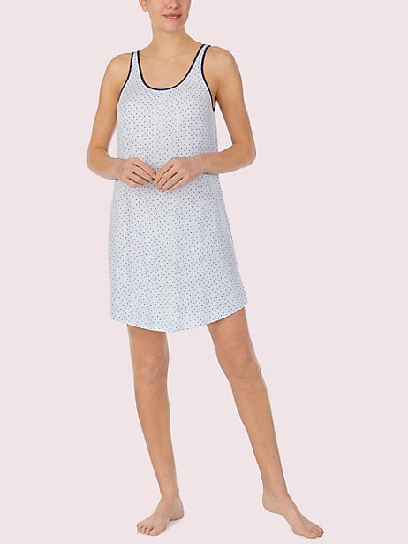 blue dot chemise by kate spade new york