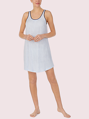 blue dot chemise by kate spade new york non-hover view