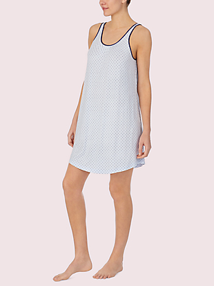 blue dot chemise by kate spade new york hover view