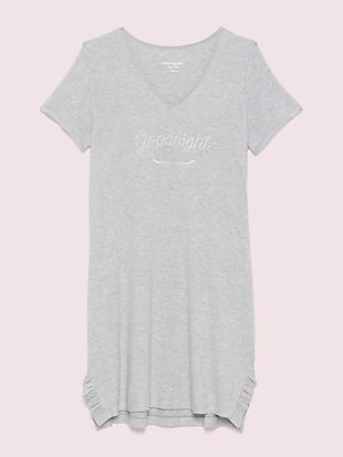 wink short sleeve sleepshirt by kate spade new york hover view