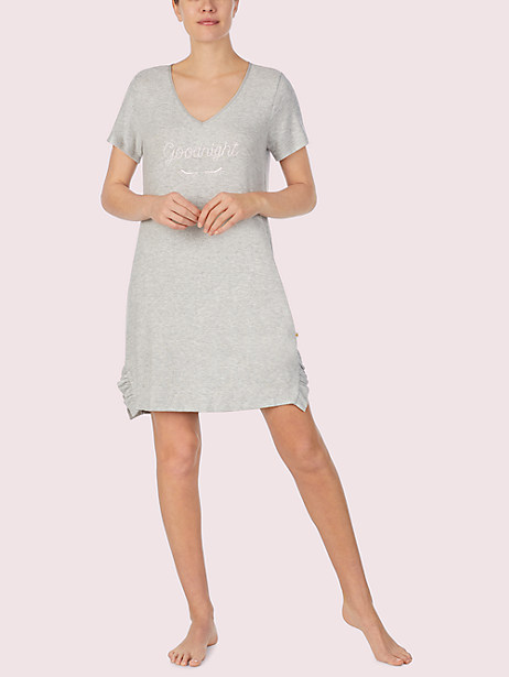 wink short sleeve sleepshirt by kate spade new york