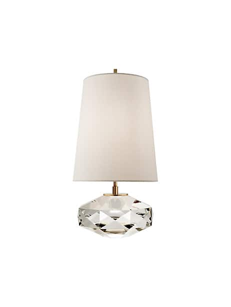 castle peak glass lamp by kate spade new york