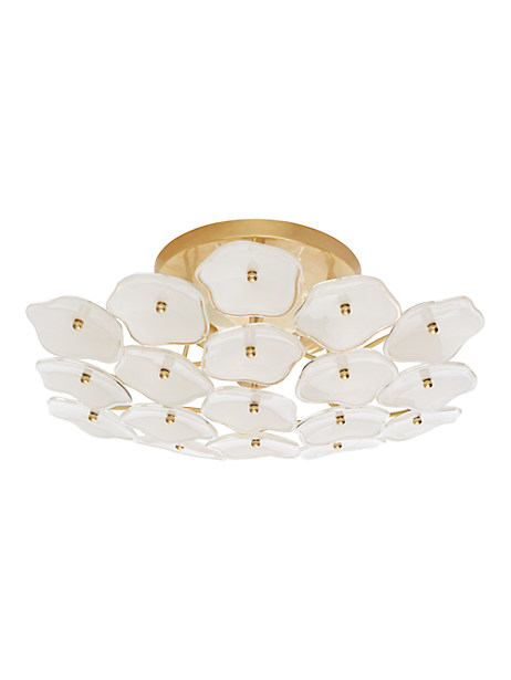 leighton medium flush mount by kate spade new york