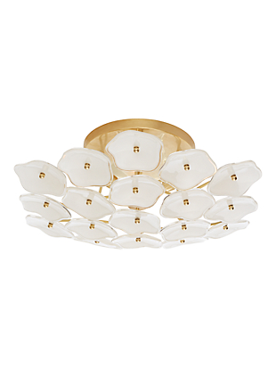 leighton medium flush mount by kate spade new york non-hover view