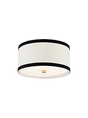 walker small flush mount by kate spade new york non-hover view