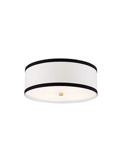 walker medium flush mount by kate spade new york