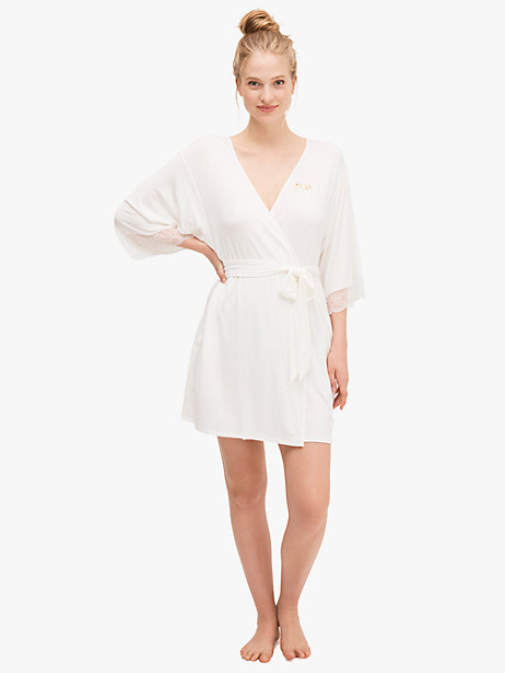 """""""mrs"""" robe by kate spade new york"""