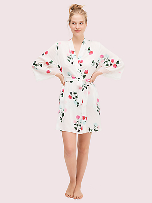 watercolor rose robe by kate spade new york non-hover view