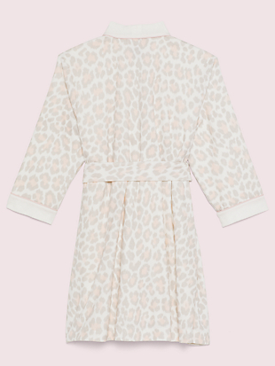 leopard robe by kate spade new york hover view