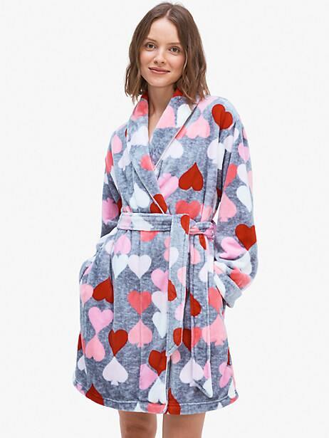 Kate Spade heart spade robe