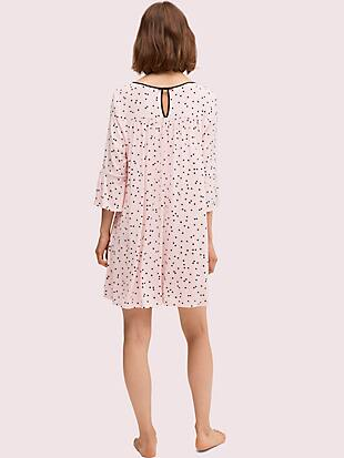 scatter dot sleepshirt by kate spade new york hover view