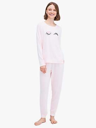 wink long pj set by kate spade new york non-hover view