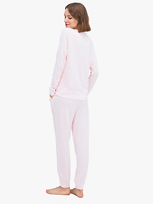wink long pj set by kate spade new york hover view