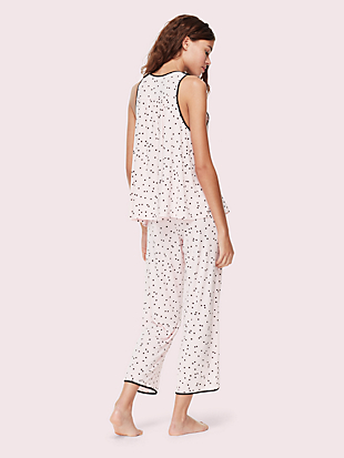 jersey blend sleeveless pj set by kate spade new york hover view