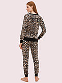 cheetah long pj set, , s7productThumbnail