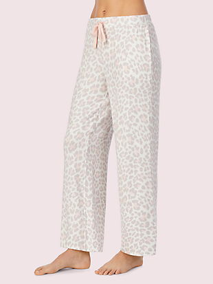 leopard lounge pant by kate spade new york hover view