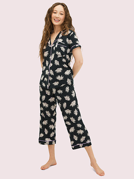 falling flower long pj set by kate spade new york