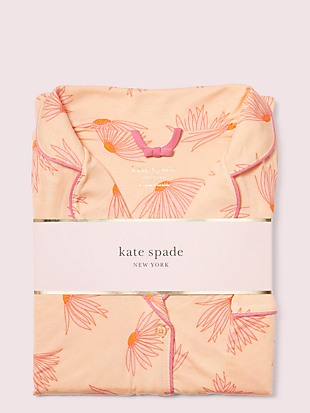 falling flower long pj set by kate spade new york hover view
