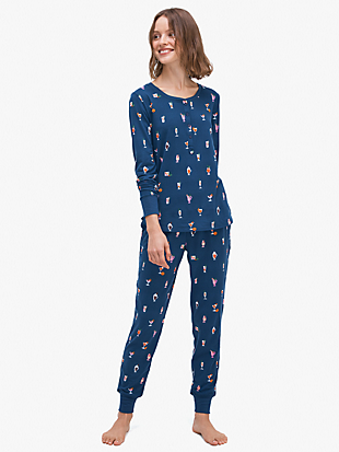 holiday cheer jogger by kate spade new york non-hover view