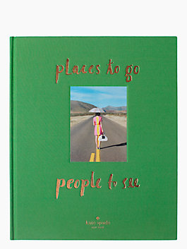 places to go, people to see coffee table book, multi, medium