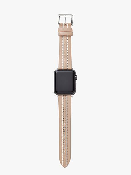 vachetta leather 38/40mm apple watch® strap by kate spade new york