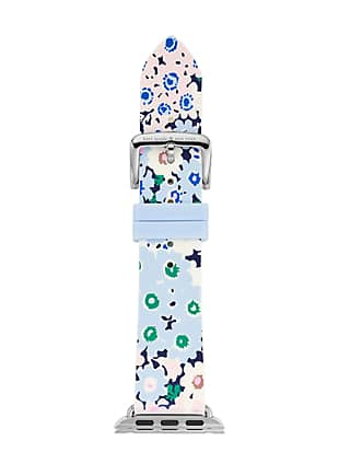 floral silicone apple watch® strap by kate spade new york non-hover view