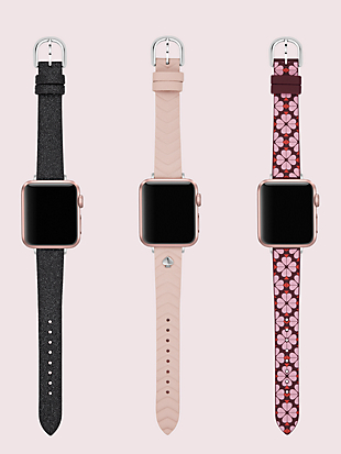 38/40mm apple watch® strap set by kate spade new york hover view