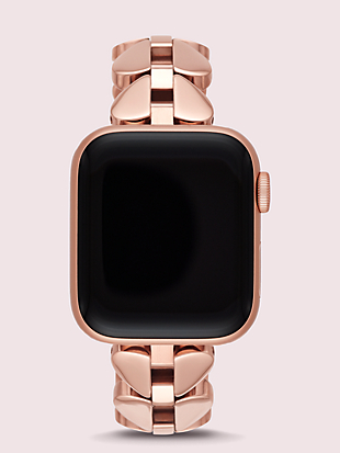 annadale spade link stainless steel 38/40mm band for apple watch® by kate spade new york non-hover view