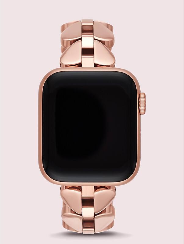 Annadale Edelstahlarmband aus pikförmigen Gliedern für Apple Watch®, Ausführung 38 oder 40 mm, , rr_large