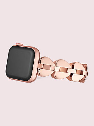 annadale spade link stainless steel 38/40mm band for apple watch® by kate spade new york hover view