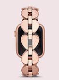 Annadale Edelstahlarmband aus pikförmigen Gliedern für Apple Watch®, Ausführung 38 oder 40 mm, , s7productThumbnail