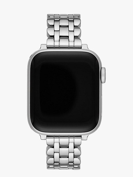 scallop link stainless steel 38/40mm bracelet band for apple watch® by kate spade new york